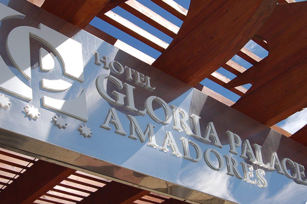 Rótulo Luminoso Gloria Palace, Gran Canaria