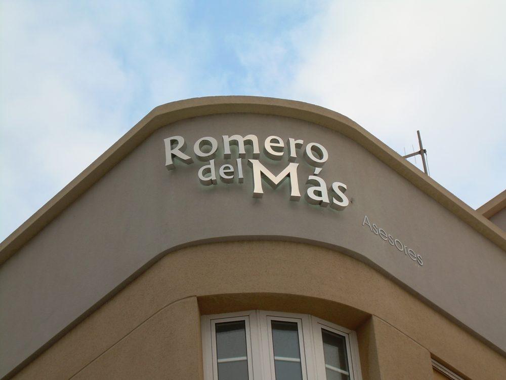 Rótulo corpóreo, Romero, Gran Canaria