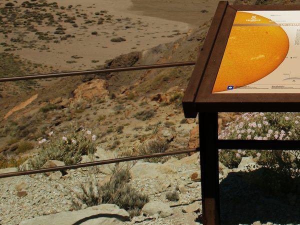Mesas Interpretativas • Parque Nacional del Teide