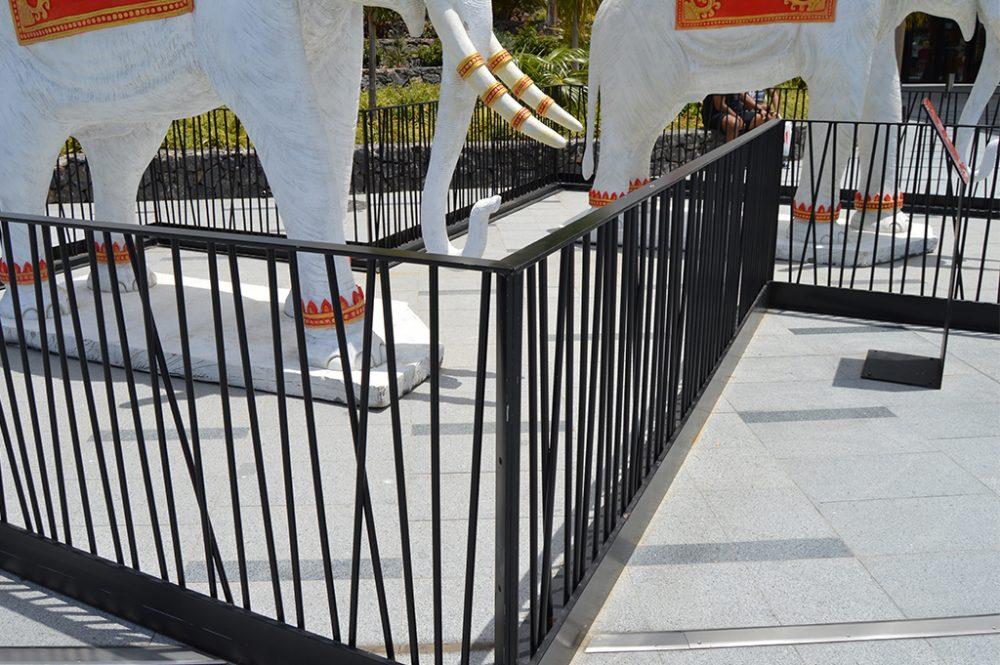 Valla perimetral decorativa para siam mall publexcan - Pletinas de hierro ...