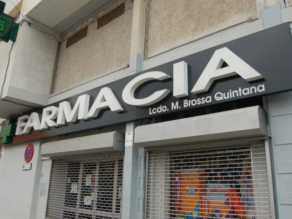 Farmacia Licenciada M. Brossa Quintana