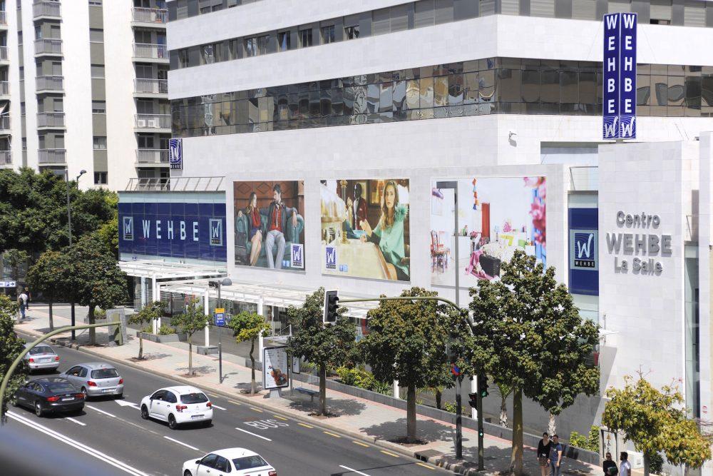 Gigantografía en lona de PVC, Wehbe Tenerife
