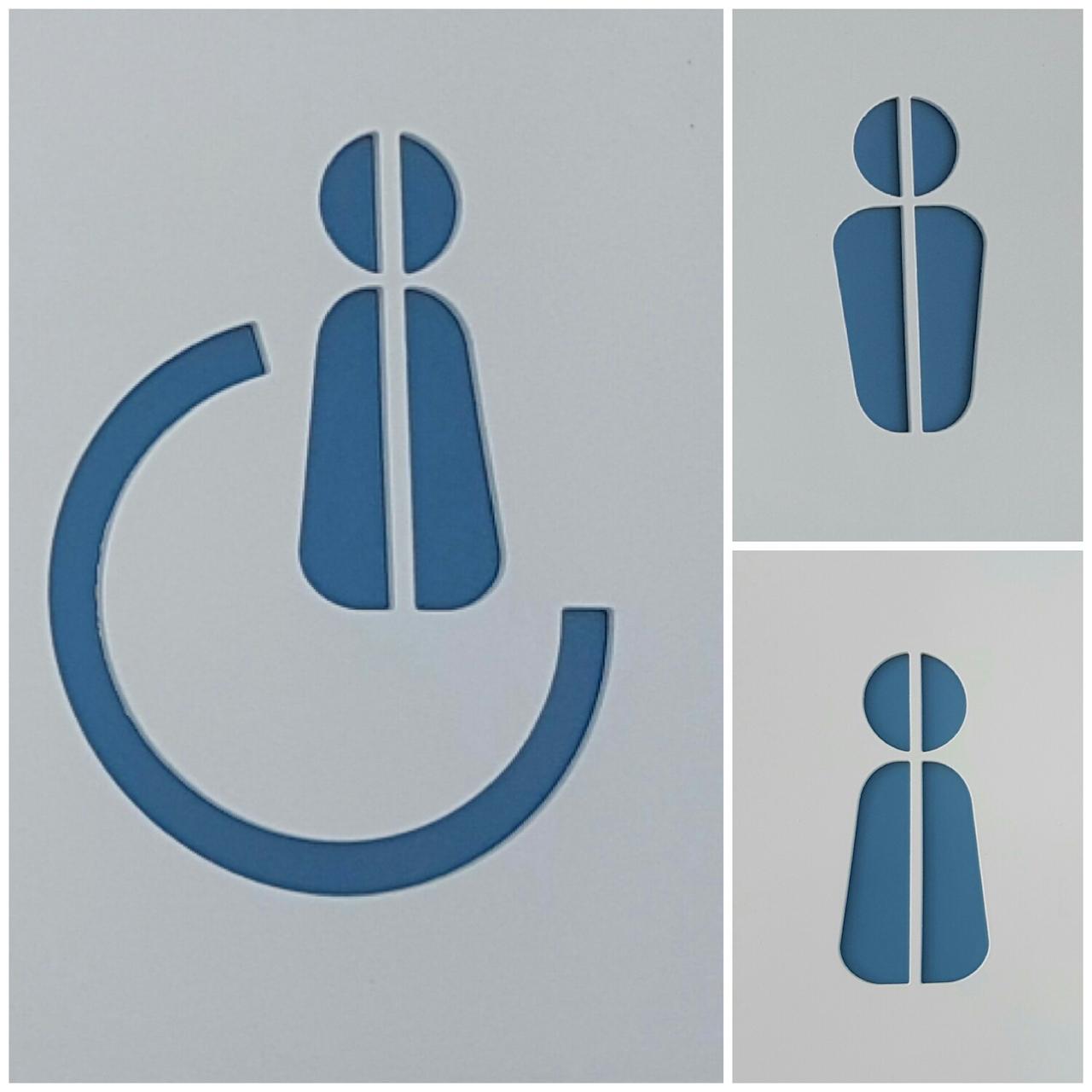 Señalética con pictogramas, Hortel Ocean Hill, Maspalomas, Gran Canaria.