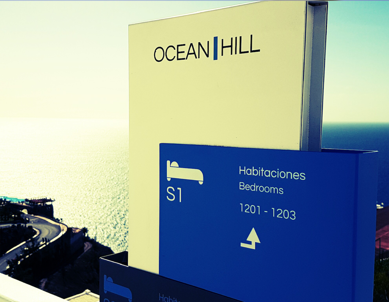 Directorio direccional, Ocean Hill, Maspaloma Gran Canaria