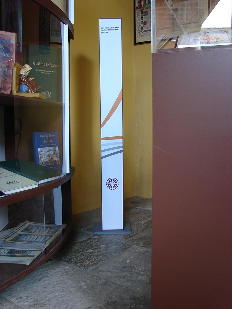 Aquitectura efímera: Exposición Libro Antiguo, Tenerife