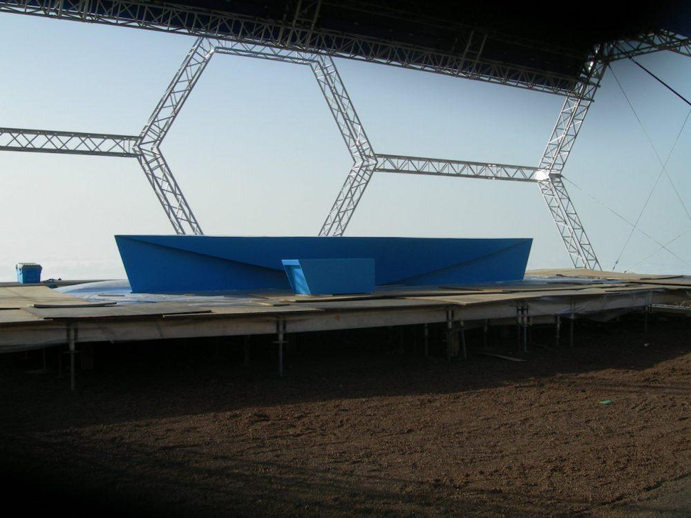 Escenografía, inauguración GTCAN, La Palma