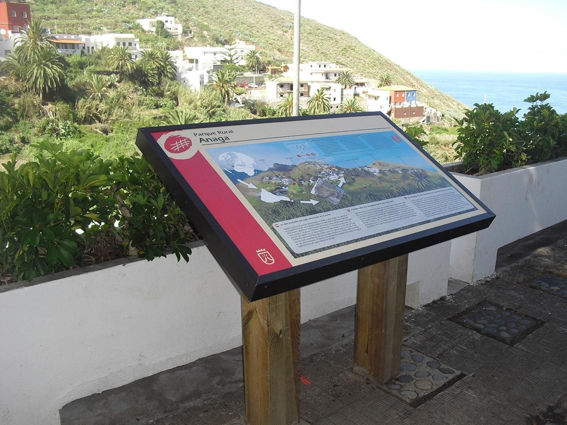 Señalética rural, Senderos de Anaga Tenerife