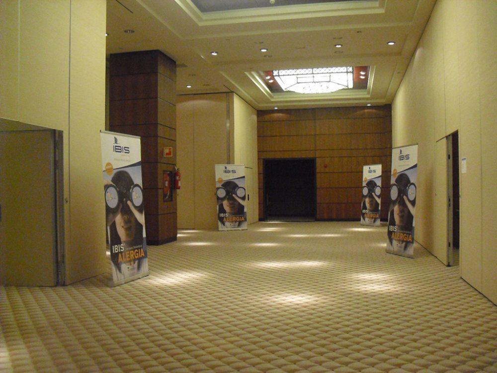 Ambientación congreso farmaceutico IBIS, Tenerife