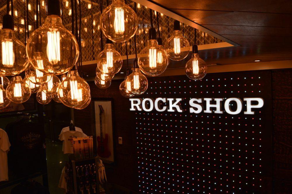 Diseño, desarrollo y relización, Hard Rock Shop Tenerife
