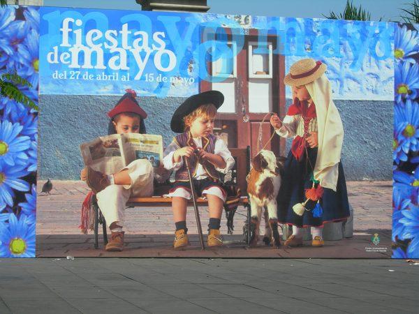 Escenografía Fiestas de Mayo