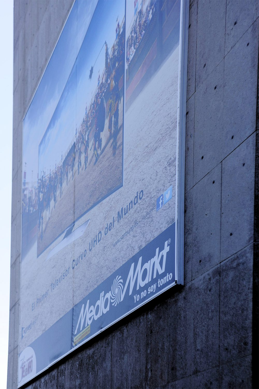 Lona impresa sobre bastidor, MediaMarkt Tenerife