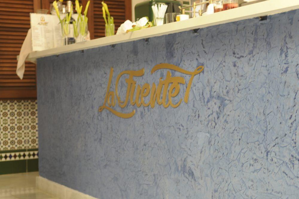 Señalización y decoración Café La Fuente, Tenerife