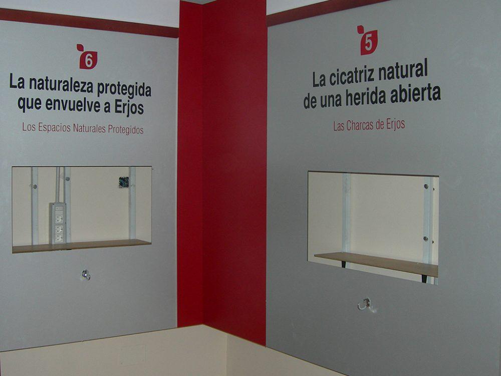 Museo Etnográfico de Erjos, Módulos para monitores.