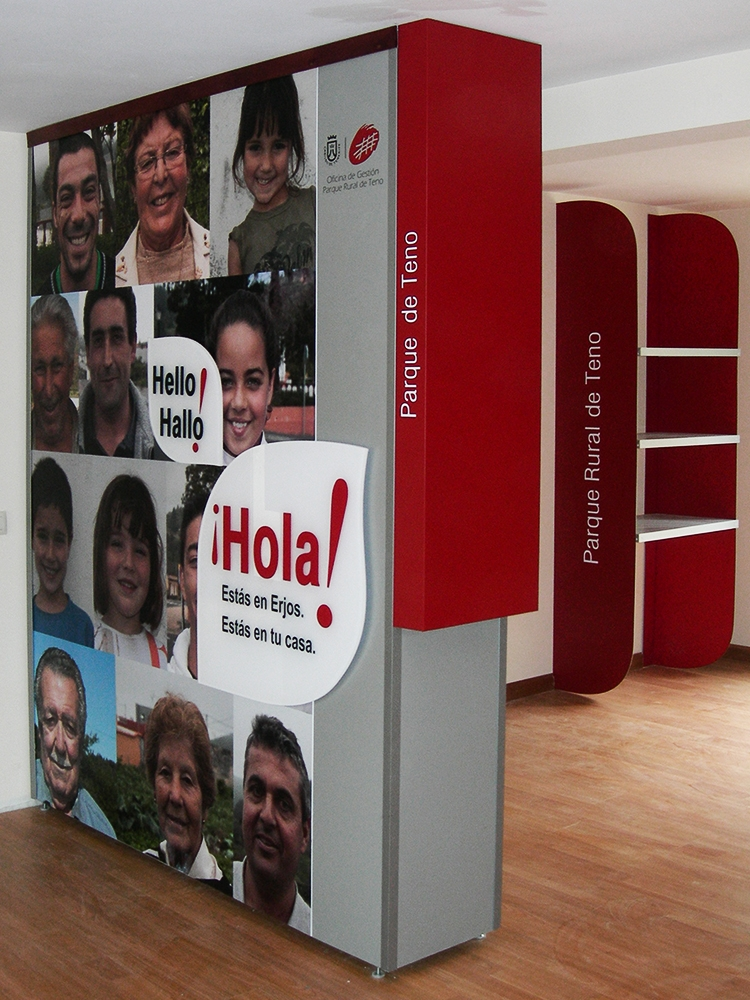 Museo Etnográfico de Erjos, Modulos de separacón