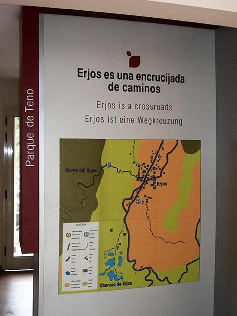 Museo Etnográfico de Erjos, Mapa en relieve