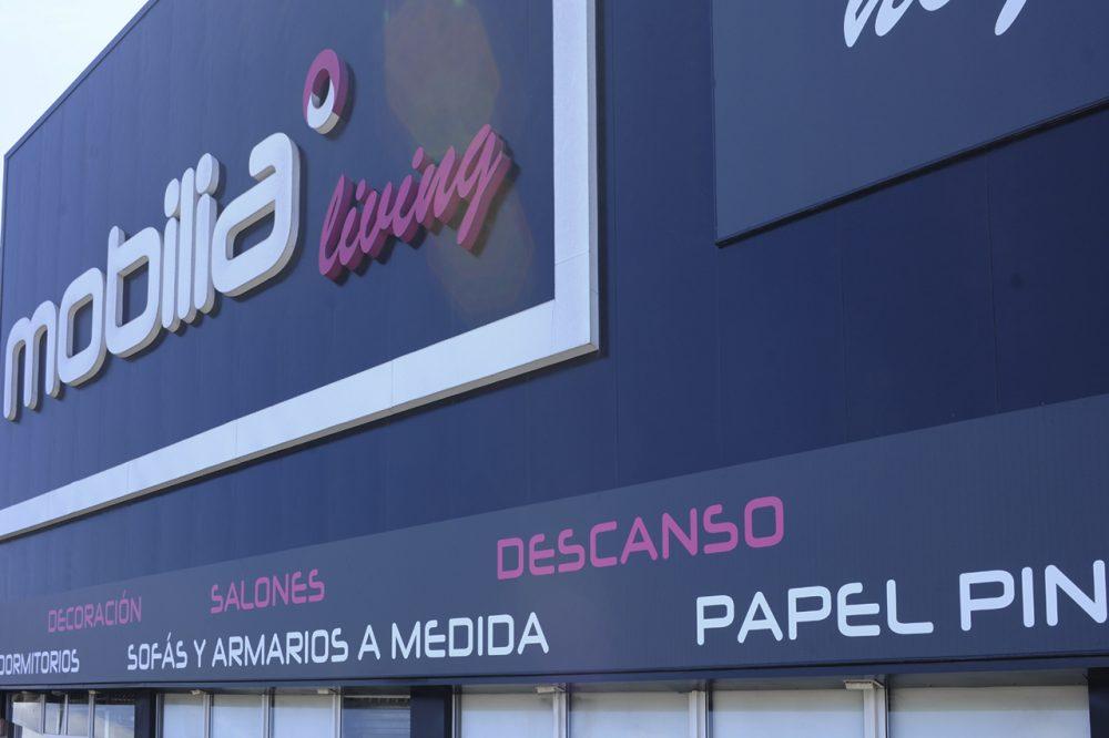 Señalización integral de fachada, Mobilia, Telde Gran Canaria.
