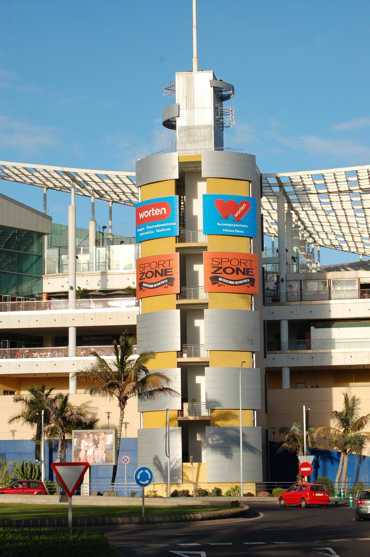 Rotulación gran formato, Worten Gran Canaria