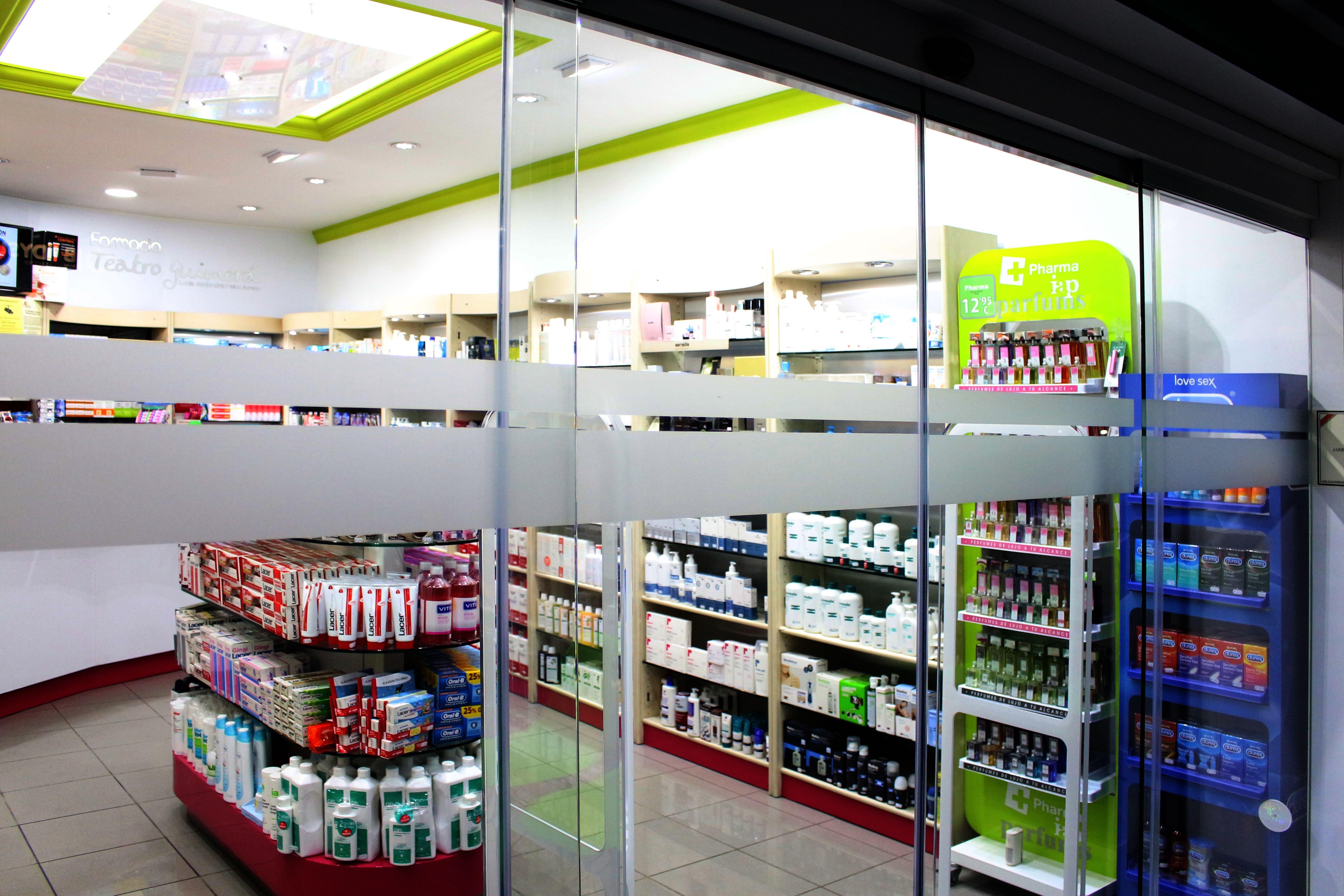 Decoración, branding corporativo, Farmacia Guimerá, Tenerife