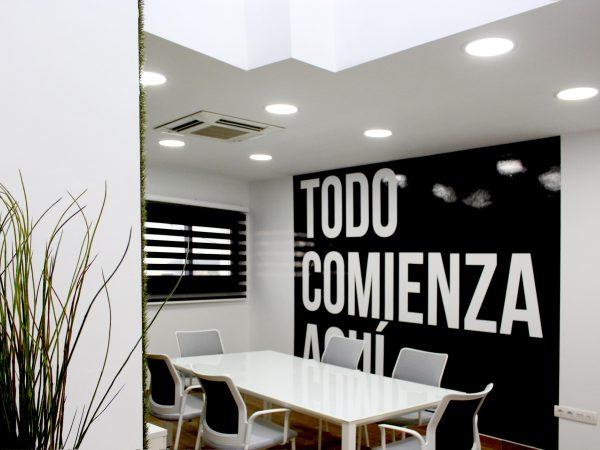 Decoración Oficinas Atelier
