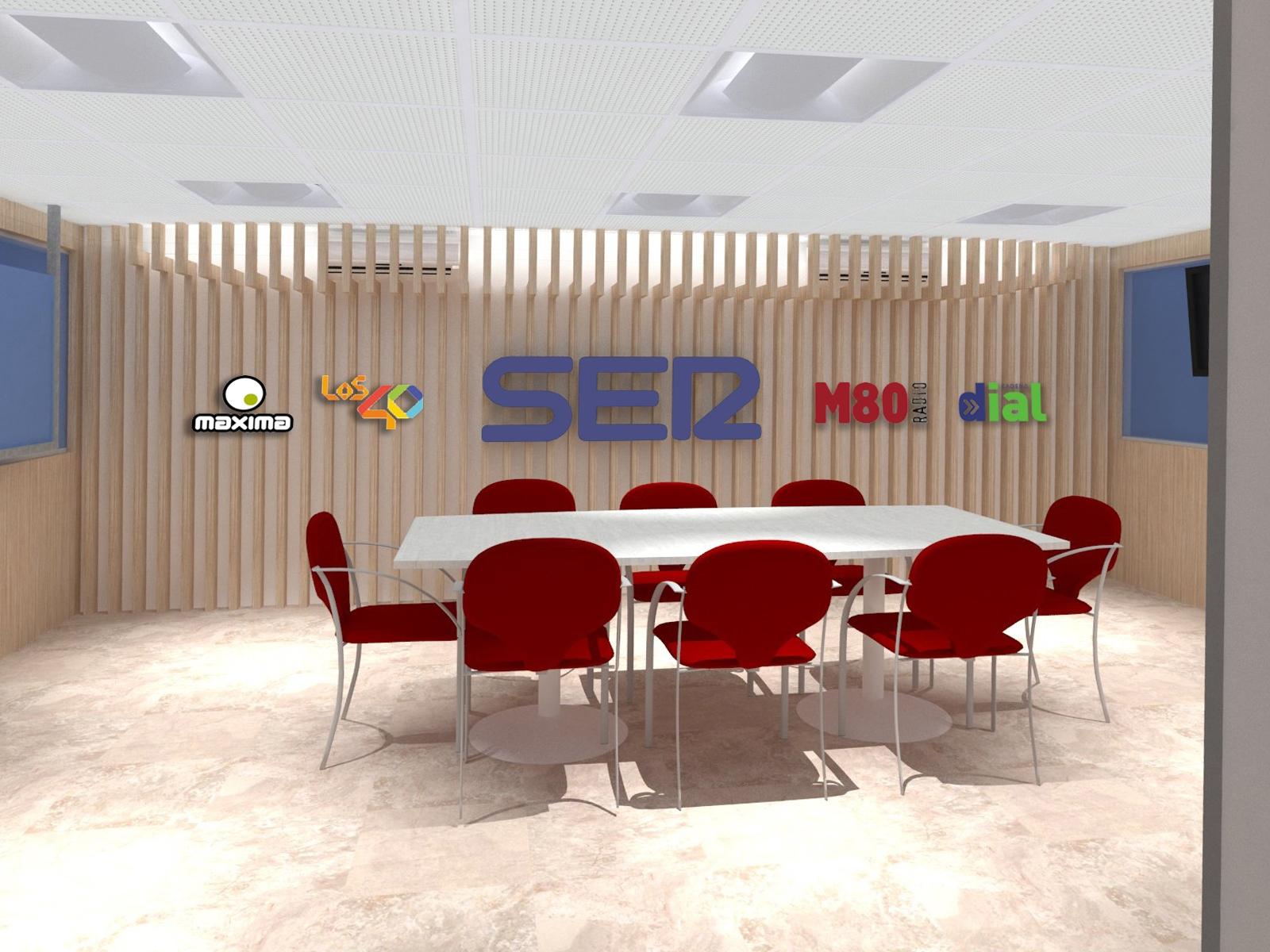 Decoración corporativa para Cadena Ser Tenerife · Publexcan